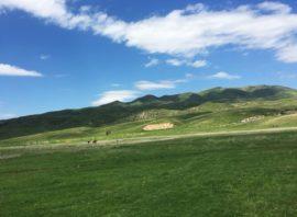 Visiting of Zhongar Alatau mountains